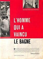 GUYANE CAYENNE BAGNE / EXECUTION / RENE BELBENOIT / ADP GUILLAUME HANOTEAU 1959