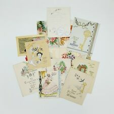 More details for vintage birthday cards 21st birthday cards job lot of 13 dating around 1940s
