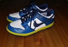 Youth Boys Nike Golf Shoes Blue/Green/White Size 5Y Cleats Sports Golfing EUC