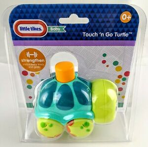 Little Tykes Baby Touch 'n Go Turtle 0+ Strengthen Helps Baby Track & Grab