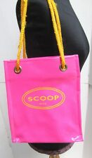Scoop Nyc Vinyle Sac Fourre-Tout Shopping Rose