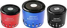 mnt* Mini Cassa Wireless Bluetooth Stereo Altoparlante Speaker Smartphone Q9
