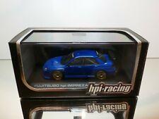 HPI-RACING 949 FUJITSUBO SUBARU IMPREZA 2006 - BLUE 1:43 - EXCELLENT CONDITION