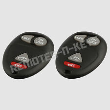 2 New Replacement Keyless Entry Remote Car Trunk Key Fob Control for L2C0007T