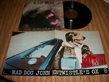 JOHN ENTWISTELE'S OX-MAD DOG-SAMPLE COPY-W/POSTER SHEET
