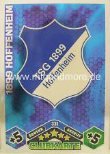 Match Attax 1899 Hoffenheim #331 Wappen 10/11