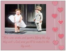 20  WEDDING  SHOWER Marilyn KIDS POST CARDS  Postcards 3 Color  Invitations USA