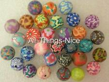 Polymer FIMO Clay 8mm ROUND Beads Jewellery Making Art Craft Spacer Findings 100