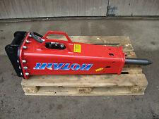 Neuer Hydraulikhammer Rotair OLS 255 kg - MS03 Aufnahme - Bagger 2,5 - 5,0 to