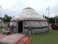 Jurta Jurte aus Kirgisien Kasachstan ∅ 8,0m  Ger Filz Yurt Yurta Юрта