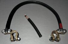 Juego de dos Bornes  Puente de Baterias con 2 Bornes Conectores masa G 20cm