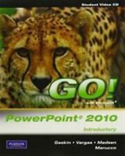 NEW SEALED Student Videos for GO! with Microsoft PowerPoint 2010 Introductory