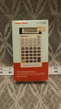 Vintage Radio Shack Programmable Scientific Calculator EC-4021 w/ Box & Manuals