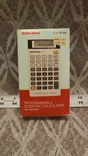 Vintage Radio Shack Programmable Scientific Calculator EC-4021 w/ Box & Manuals