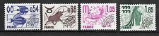 France : 1977 Yvert 145-148 ( Préoblitérés ) Luxe ( MNH )
