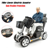 Universal Mobility Electric Scooter Tiller Rain Hand Control Cover Waterproof