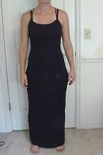 "Steppin Out ""PLUM form fitting FORMAL/PROM/EVENING/WEDDING DRESS"" Size 11/12"