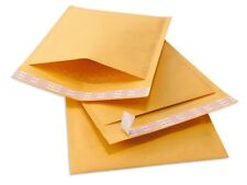 """10 #00 5x10 Kraft Paper Bubble Padded Envelopes Mailers Case 5""""x10"""""""