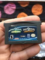 Power Rangers Double Pack: Ninja Storm & Time Force (Nintendo Game Boy Advance,