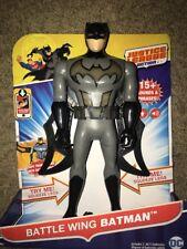 Justice League Action Battle Wing Batman Figure w/ 15+ Sounds, Lights & Phrases
