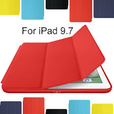 "Ultra thin Leather Smart Cover Stand Case For iPad 2/3/4 air Pro 10.5"" 9.7"" Mini"