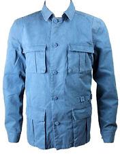 Eleven Paris Men's EDGAR Field Jacket Light Blue (EPJK024)