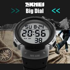 Montre Tendance Sport SKMEI Homme Etanche 50 M Multifonctions Chrono PROMO