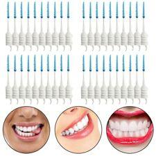 3X(Interdental Brush Dental Floss Teeth Oral Clean Double Head Toothpick M7W8)