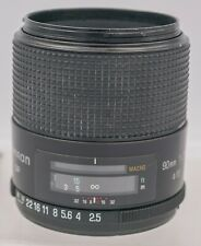 Tamron SP 90mm F2.5 Tele 1:2 Macro Adaptall 2 Mount SLR & Mirrorless Camera Lens