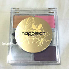 NEW~Napoleon Perdis Prismatic Eye Shadow Quad # Coral 11.5g~Full Sz