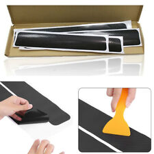 3D Carbon Fiber Door Scuff Car Pedal Protector Accessories Anti Scratch Sticker