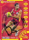 ✺Signed✺ 2013 GOLD COAST SUNS AFL Card HARLEY BENNELL