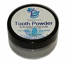 Superior Tooth Powder 4 Whiter & Healthier Teeth and Gums,w/ Activated Charcoal