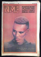 NME 25 July 1981 Grace Jones Cover Positive Noise Cramps Tom Petty Duran Duran