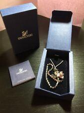 Womens Genuine Swarovski Pink Cute Butterfly Wristlet Phone Key Ring 654685 17cm