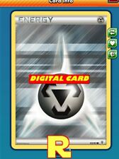 10x Metal Energy (Generations) - for Pokemon TCG Online (ptcgo in Game Card)