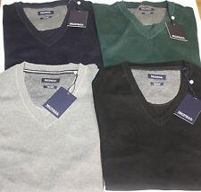 Unifarbene Herren-Pullover & -Strickware mit V-Ausschnitt und MCNEAL