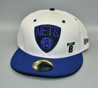 Brooklyn Nets Deron Williams New Era 59FIFTY Men's Fitted Cap Hat - Size 7 3/4