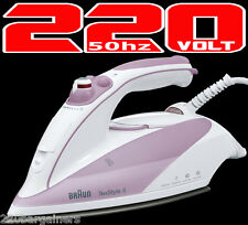 Braun New TS505 220 Volt Steam Iron 220V-240V for Europe Asia Ultra High Quality