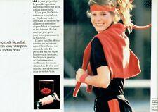 Publicité Advertising 089  1982  cosmétiques creme Stendhal (2 pag) bio-météo