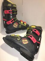 Vintage Salomon Integral Force 9.0 Men's Ski Boots Sz 26.5 335mm