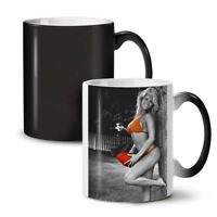Model Hot Fit Girl Sexy NEW Colour Changing Tea Coffee Mug 11 oz | Wellcoda