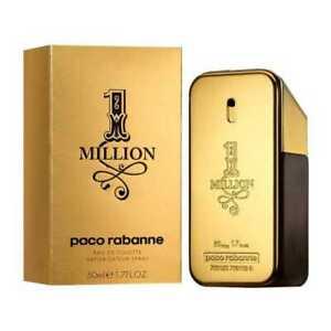 Paco Rabanne 1 Million 1.7oz. Men's Eau De Toilette