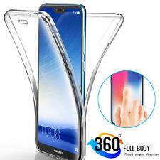 For Huawei P30 Pro/Lite Y6 Y7 Y9 2019/P Smart 2019 360° Full Cover Silicone Case
