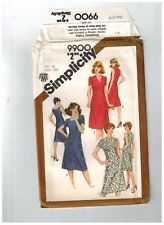 """Simplicity 9900 Sewing Pattern Fitted Dress Slim Fit Size 16.5 Bust  39""""Uncut FF"""