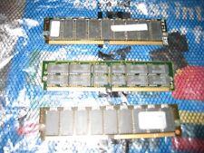 Kingston And IBM Ram EDO Modules Gold Pin Single Sided