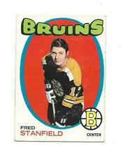 1971-72 OPC:#7 Fred Stanfield,Bruins