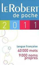 Robert de Poche 2011 (Dictionnaires Generalistes) (French Edition)-ExLibrary