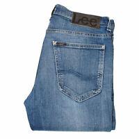 26181 Lee Caine Slim Fit Bleu Hommes Jean En Sz 31/32