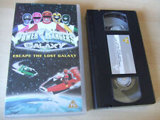 POWER RANGERS VHS Video Lost Galaxy Escape The Lost Galaxy